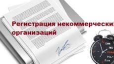 Регистрация некоммерческой организации